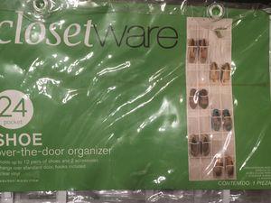 Closet ware Shoe Over-the-Door Organizer for Sale in Las Vegas, NV