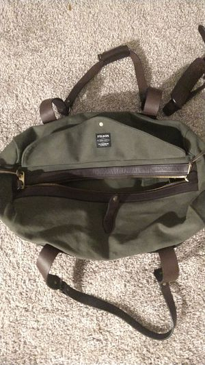 Filson Medium Rugged Twill Duffle Bag, Otter Green for Sale in Bothell, WA