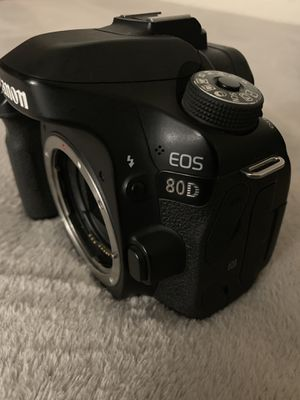 Canon 80D with 50mm F1.8 for Sale in Moreno Valley, CA