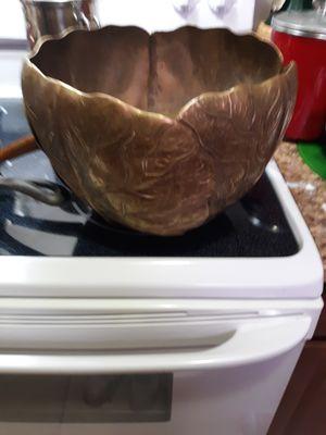 Brass flower pot for Sale in Portsmouth, VA