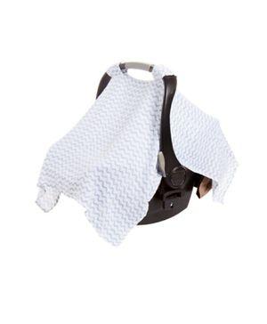 Aden & Anais car seat cover 100% cotton muslin for Sale in Odessa, TX