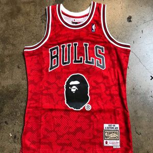 Chicago Bulls Bape Jersey S-XXXL for Sale in Brooklyn, NY