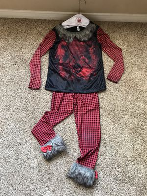 Wolf costume/pajama - size kids small for Sale in Mission Viejo, CA