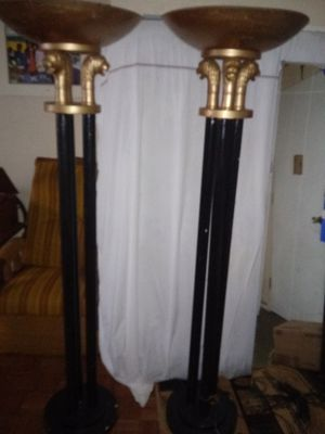 Tall antique lamps for Sale in Columbus, OH