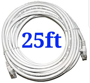 25ft cat6 ethernet network cable for Sale in Chino Hills, CA