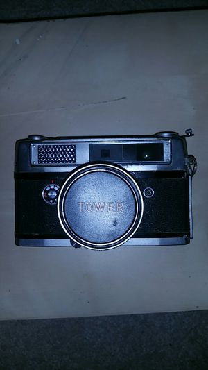 Vintage Tower 18B 35mm Camera with Mamiya-Kominar 1:2/48mm Lens with Lens Cap for Sale in Clinton, MD