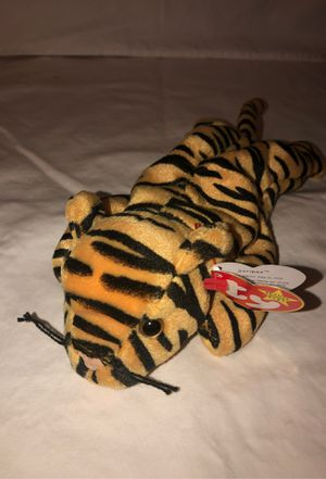 Stripes the tiger , beanie baby from 1995 for Sale in Renton, WA