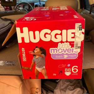 Buggies Mover Size 6 Box Of 88 Brand New for Sale in Buena Park, CA