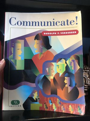Communication Textbook for Sale in Compton, CA