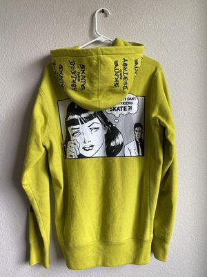 Supreme x thrasher Boyfriend hoodie pea green for Sale in Vancouver, WA