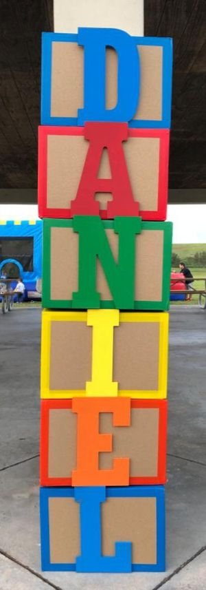 Toy story birthday name daniel for Sale in Weston, FL