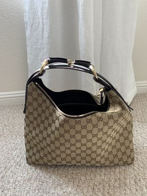 Gucci Monogram Horsebit Handle Bag for Sale in Portola Hills, CA