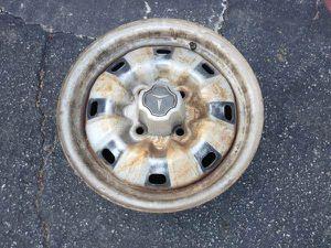 One classic toyota 4 on 4.5 lug steel wheel 14 inch stock rim for Sale in Montebello, CA