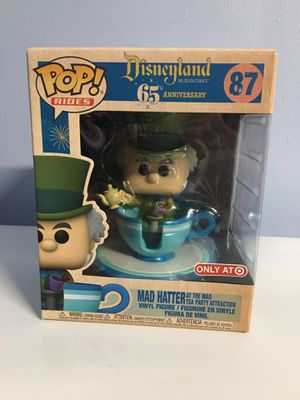 Disneyland Resort 65th Anniversary - Mad Hatter Funko Pop for Sale in Los Angeles, CA