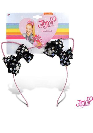 JoJo Siwa Girls Glitter Cat Ear with Mini Bow Headband for Sale in Hesperia, CA