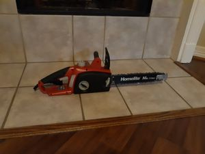 Electric chainsaw for Sale in Houston, TX