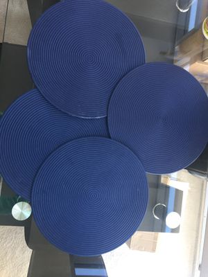 Round Table Pads Bowl Pad Table Mat Waterproof Placemat Anti-hot Pad for Sale in Hyattsville, MD