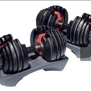 Adjustable Dumbbells *NEW* Bowflex SelectTech 552 TWO Dumbbells 5 to 52.5lb- PICK UP TODAY 📦🚗 for Sale in South Brunswick Township, NJ