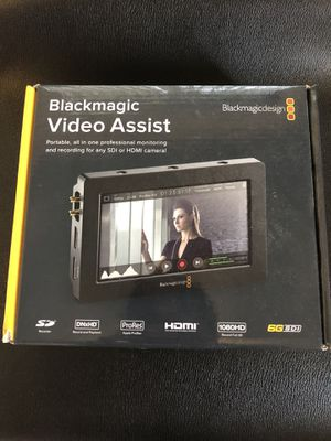 Blackmagic Video Assist (HD) for Sale in US