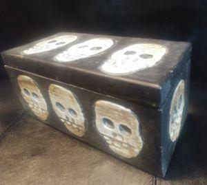 Skull stash box Balinese for Sale in Amherst, VA
