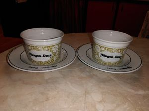 New Haagen Daz Cups and Saucers for Sale in La Verne, CA