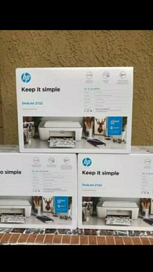 BRAND NEW FACTORY SEALED HP PRINTER INC  ALL--ONE /WIRELESS*/PRINT /SCAN /COPY /WIFI HOME OFFICE FIRM$70 EACH for Sale in Fontana, CA