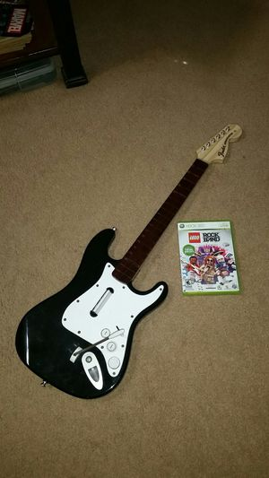 Xbox 360 Rock Band Guitar Lego for Sale in Pearland, TX