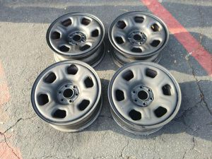 Stock Nissan Frontier steel rims. 16 inch, 6 on 4.5 lugs for Sale in Montebello, CA