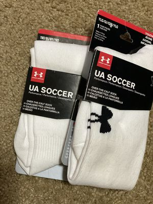 New UA soccer socks youth for Sale in Meridian, ID