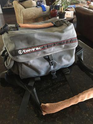 Camera Bag and lens holder w a pop off film pocket for Sale in Clovis, CA