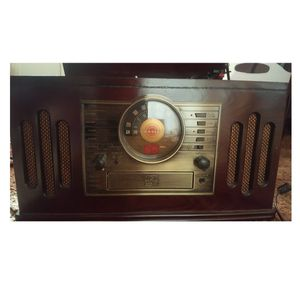 CROSLEY Record Player (with cd and cassette player) for Sale in Parkersburg, WV