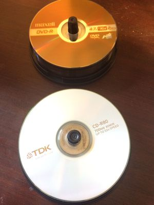 Blank dvds 4.7 GB for Sale in Snohomish, WA