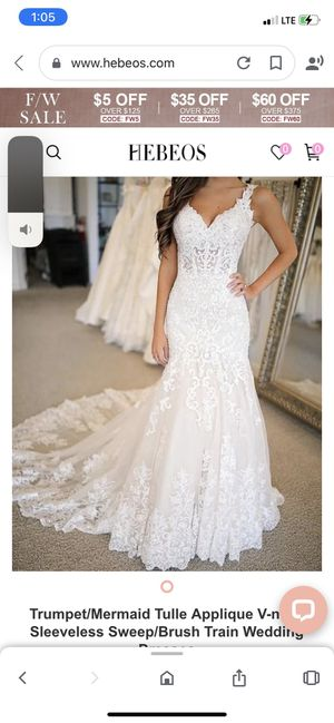New wedding dress size 10 for Sale in Riverside, CA
