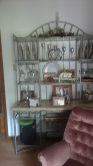 Marble Travertine -bakers/wine rack for Sale in Bellville, TX