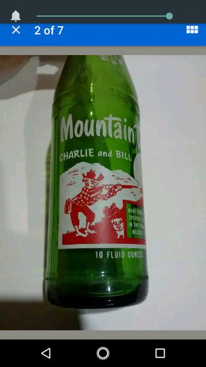Charlie bill mtn dew bottle Johnson City TN for Sale in Kingsport, TN