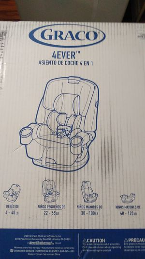 Graco 4Ever 4 in 1 car seat for Sale in San Diego, CA