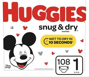 Huggies size 1 for Sale in Irving, TX