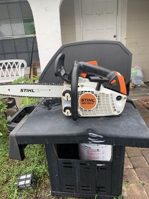 Echo blower and sthil chainsaw both in good working condition for Sale in Belle Isle, FL