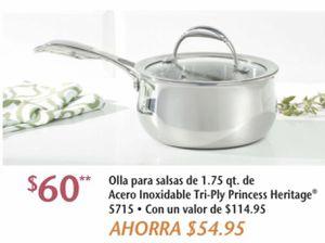 Princess House olla triplay de 1.75 qt for Sale in Ontario, CA