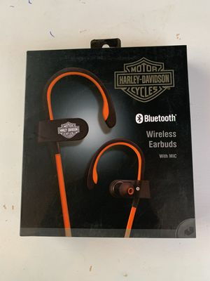 Harley Davidson wireless earbuds for Sale in Turlock, CA