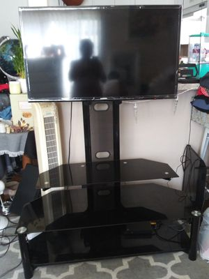 40 inches tv and stand up for Sale in Costa Mesa, CA
