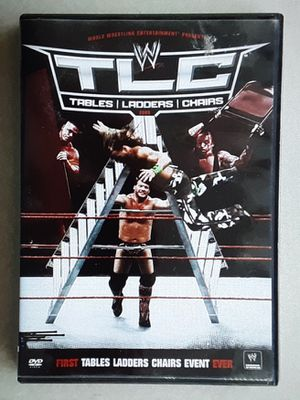 WWE WRESTLING DVD PREMIERE TLC 2009 for Sale in Whittier, CA