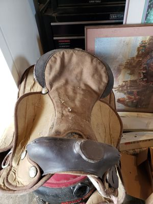15 inch saddle for Sale in Eatonville, WA