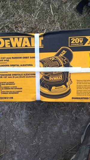 Dewalt xr 20v brushless compact router and DeWalt 20v xr brushless random orbit sander for Sale in Stockton, CA