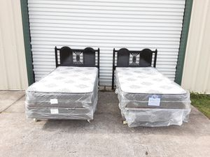 Black twin beds for Sale in Tampa, FL