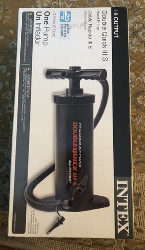 New Hand pump for air mattress and inflatables. for Sale in Mukilteo, WA