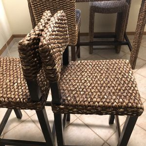 Boho dining table and chairs for Sale in Las Vegas, NV
