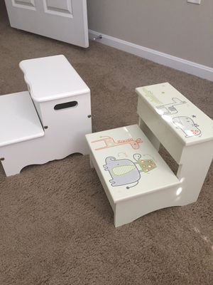 Kids' Wooden Step Stools for Sale in Hilliard, OH