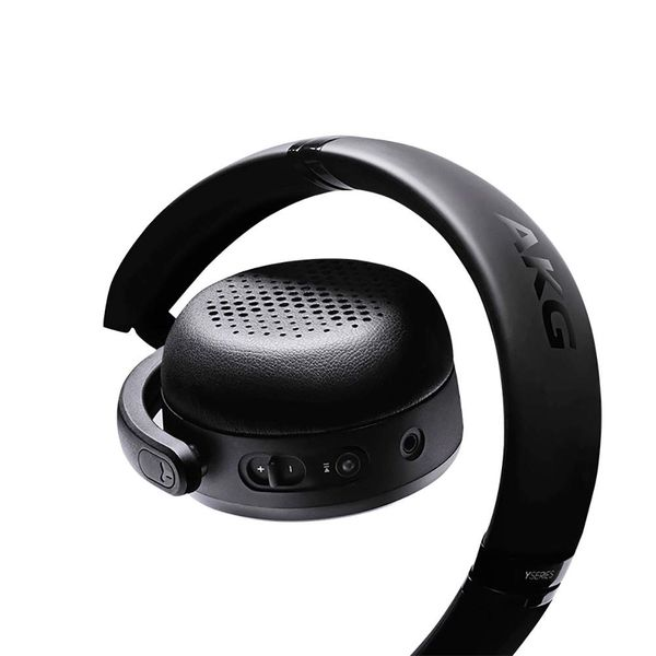 AKG Y500 On-Ear Foldable Wireless Bluetooth Headphones - Black