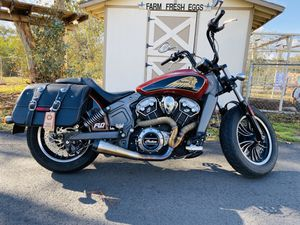2016 Indian Scout under warranty and under 16,000 miles for Sale in Lake Elsinore, CA